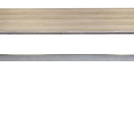 Eettafel Gomez 200 cm breed in eiken greywash