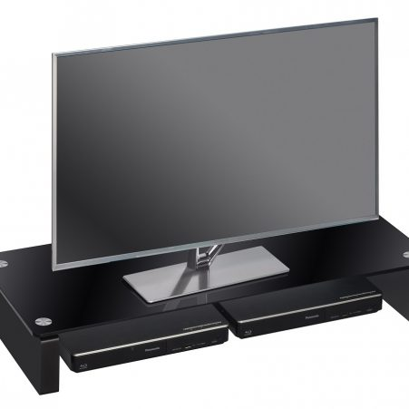 Tv-meubel Atlas 82 cm breed – zwart
