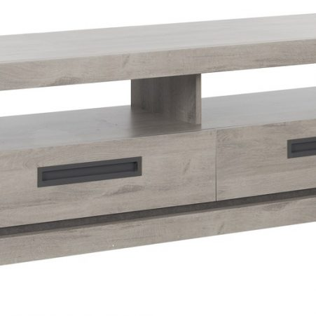 Tv-meubel Boston 182 cm breed in licht grijs eiken
