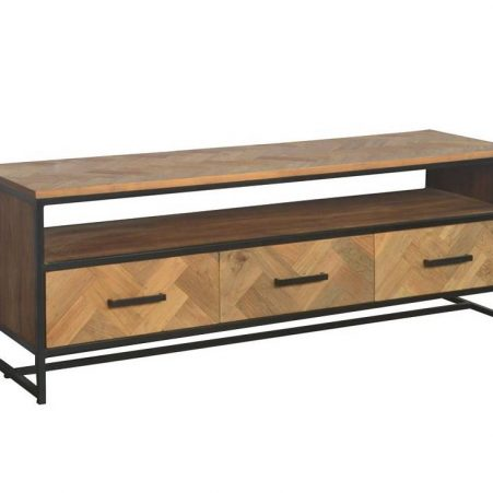 Livingfurn TV meubel SB Accent 150cm recycled teak