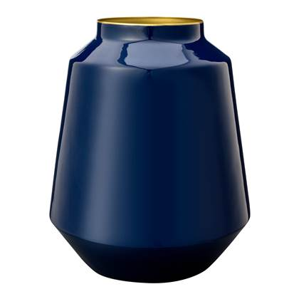 Pip Studio Royal Vaas H 29 cm – Metal blue